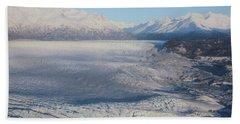 Glacier In Alaska Bath Towel