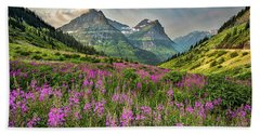 Glacier Meadow Hand Towel