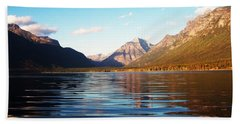 Glacier National Park 7 Bath Towel