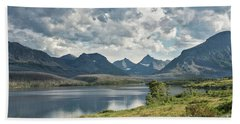Glacier National Park - St. Mary Lake Bath Towel