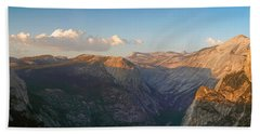 Glacier Point Panorama Hand Towel