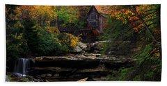 Glades Creek Grist Mill West Virginia Hand Towel