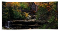 Glades Creek Grist Mill West Virginia Bath Towel