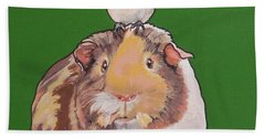 Gladys The Guinea Pig Bath Towel