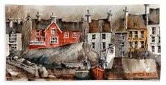 Glandore Harbour, Cork... X111 Hand Towel