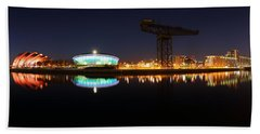 Glasgow Clyde Panorama Hand Towel