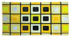 Glass Wall Hand Towel by Lorna Maza