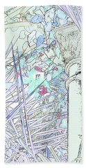 Hand Towel featuring the photograph Glasshouse Jungle by Nareeta Martin