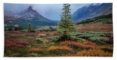 Glen Alps In The Autumn Rain Bath Towel
