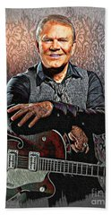 Glen Campbell - Singing Icon Hand Towel