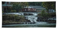 Glen Farris On The Falls Hand Towel