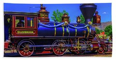 Glenbrook Train Carson City Hand Towel