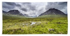 Bath Towel featuring the photograph Glencoe by Jeremy Lavender Photography