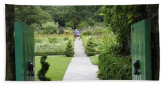 Glenveagh Castle Gardens 4272 Bath Towel
