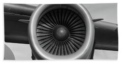 Global Power - 2017 Christopher Buff, Www.aviationbuff.com Hand Towel