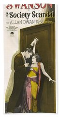 Gloria Swanson In Society Scandal 1924 Bath Towel