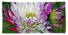 Glorious Dahlia Bath Towel