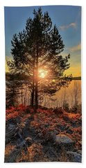 Glorious Day Hand Towel by Rose-Marie Karlsen