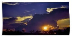 Glorious Days End Hand Towel by Jan Amiss Photography