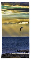 Glorious Evening Hand Towel by Jan Amiss Photography