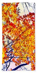 Glorious Foliage Bath Towel