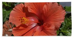 Glorious Hibiscus Hand Towel