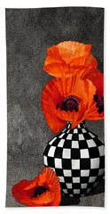 Glorious Poppies Hand Towel