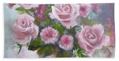 Glorious Roses Hand Towel by Chris Hobel