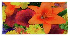 Glorious Summer Colors Hand Towel