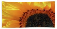 Glorious Sunflower Hand Towel