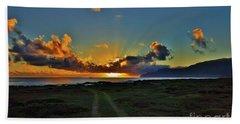Glorious Sunrise Bath Towel by Craig Wood