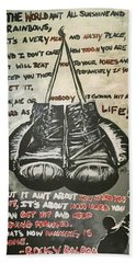 Gloves Of Life Hand Towel