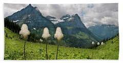 Glacier Beargrass Hand Towel