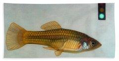 Gold Fish Hand Towels