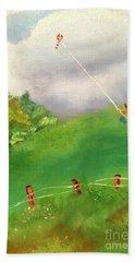 Go Fly A Kite Hand Towel