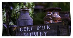 Goat Milk Delivery Hand Towel