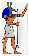 God Of Ancient Egypt - Seth Bath Towel