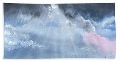 God Rays Bath Towel