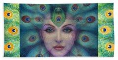 Goddess Isis Visions Hand Towel