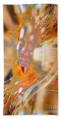 Goddess Of Rainbows Hand Towel