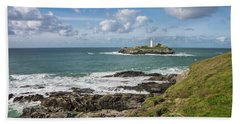 Godrevy Lighthouse 3 Hand Towel