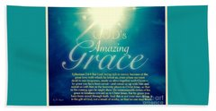 God's Amazing Gift Of Grace Bath Towel