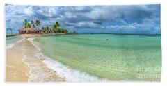 Goff's Caye Belize Pano Bath Towel