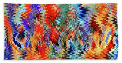 Going To Great Wavelengths Hand Towel