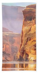 Gold Canyon River Bath Towel