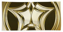 Gold Coffee 12 Hand Towel