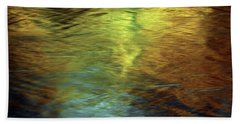 Bath Towel featuring the photograph Gold To Blue by Kenneth Campbell
