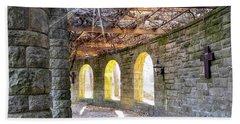 Golden Arches Bath Towel