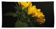 Bath Towel featuring the photograph Golden Beauty by Judy Vincent