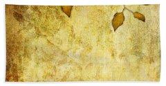 Golden Branch Of Hope  Hand Towel